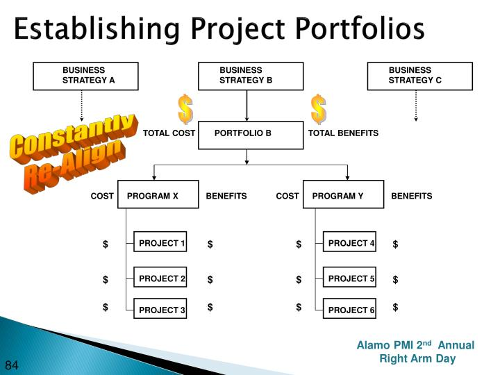 Establishing Project Portfolios