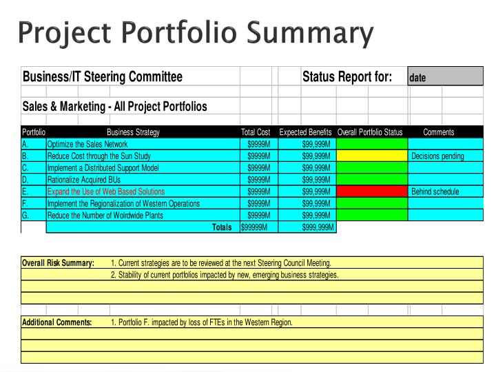 Project Portfolio Summary