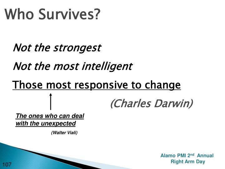 Who Survives?