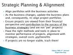 strategic planning alignment