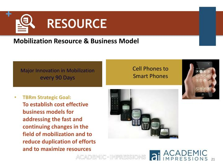 Mobilization Resource & Business Model