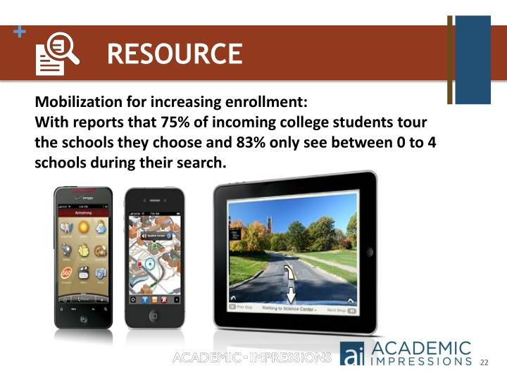 Mobilization for increasing enrollment: