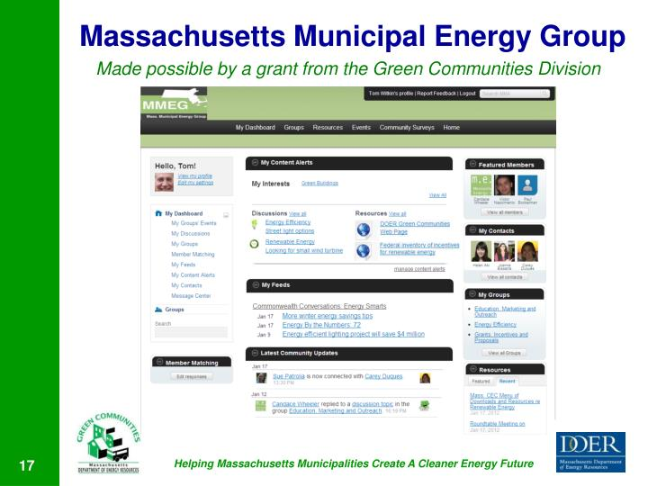 Massachusetts Municipal Energy Group