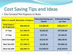 cost saving tips and ideas3