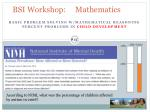 bsi workshop mathematics16