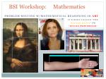 bsi workshop mathematics6