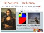 bsi workshop mathematics7