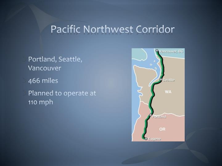 Pacific Northwest Corridor
