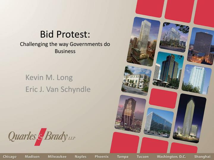 Bid protest challenging the way governments do business