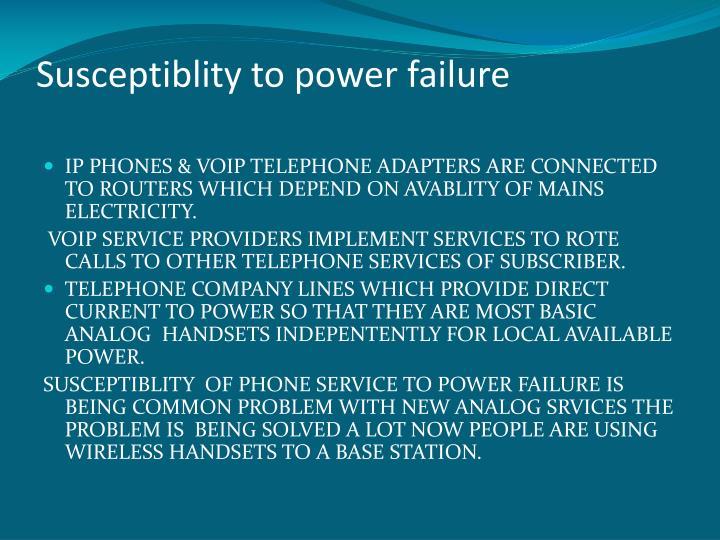 Susceptiblity