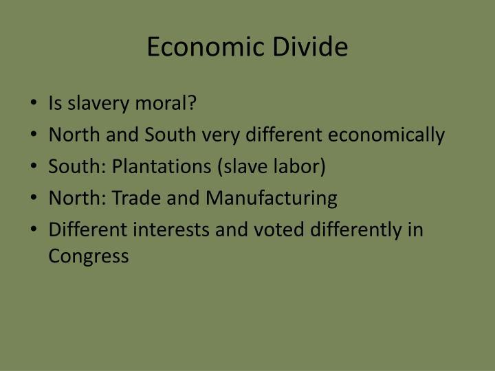 Economic Divide