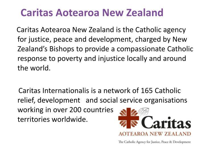 Caritas Aotearoa New Zealand