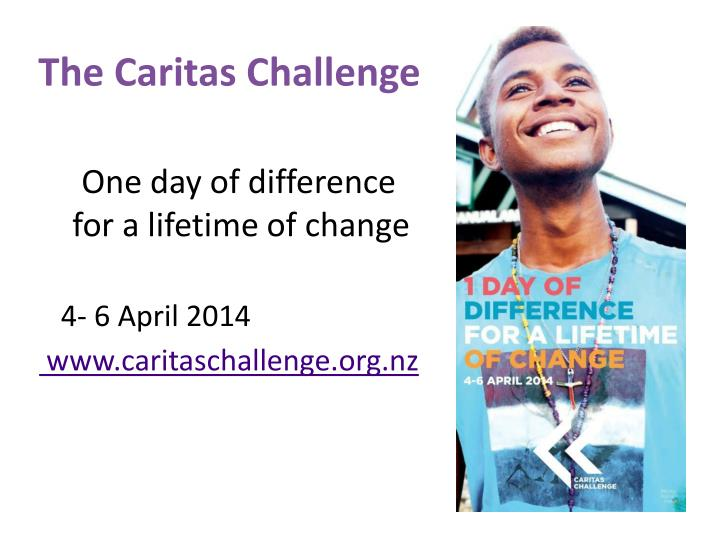 The Caritas Challenge