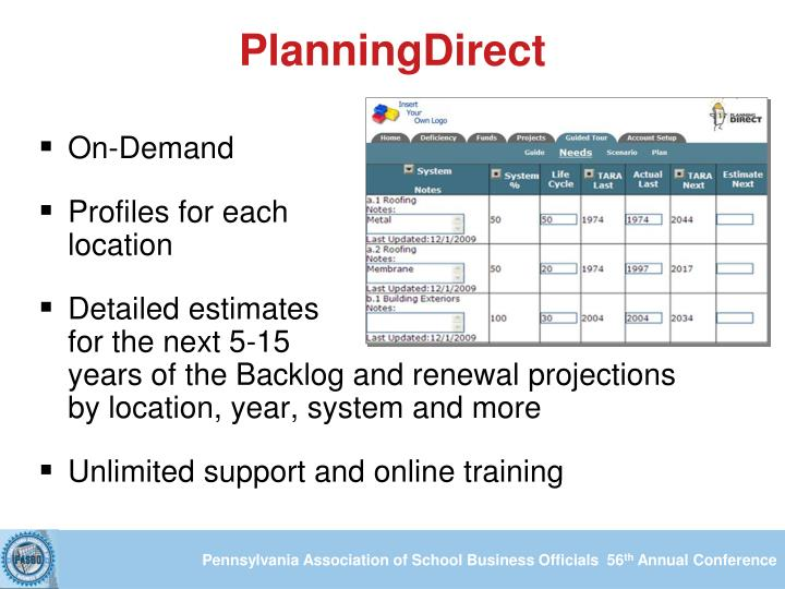 PlanningDirect