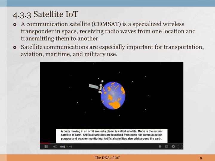 4.3.3 Satellite