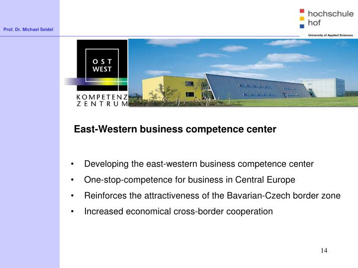 East-Western business competence center