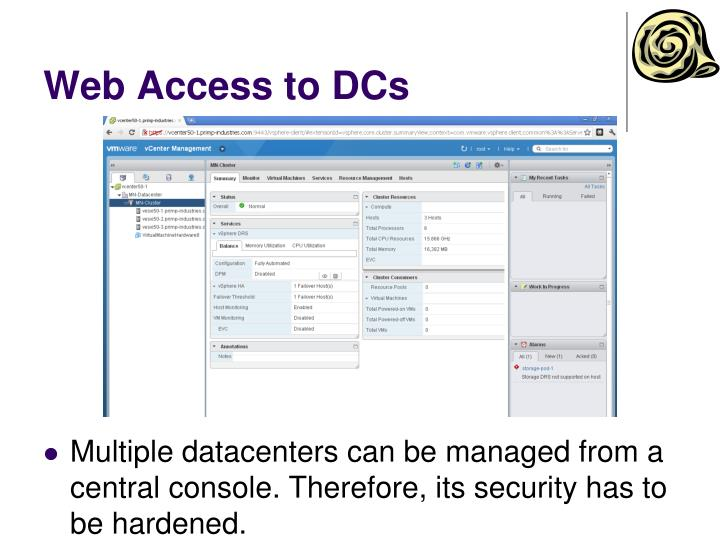 Web Access to