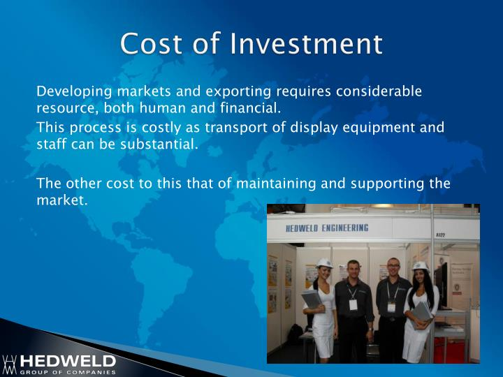 Cost of Investment