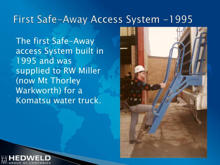 First Safe-Away Access System -1995