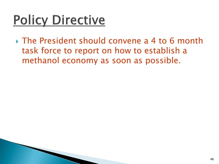 Policy Directive