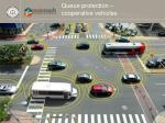queue protection cooperative vehicles