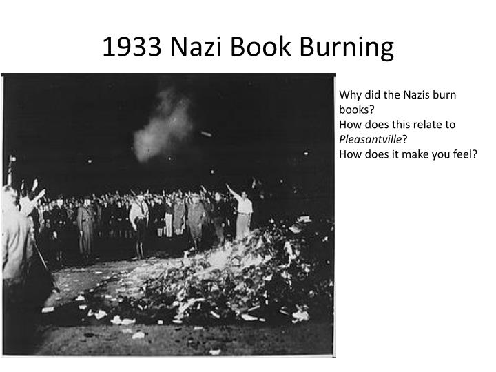 1933 nazi book burning