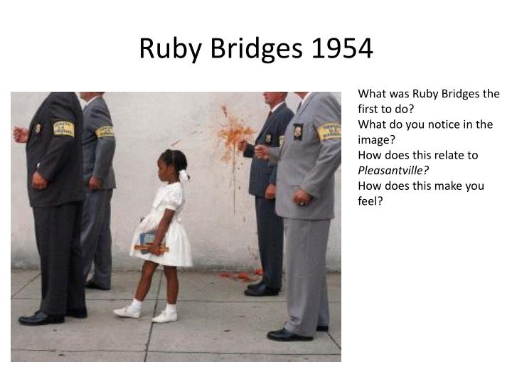 Ruby Bridges 1954