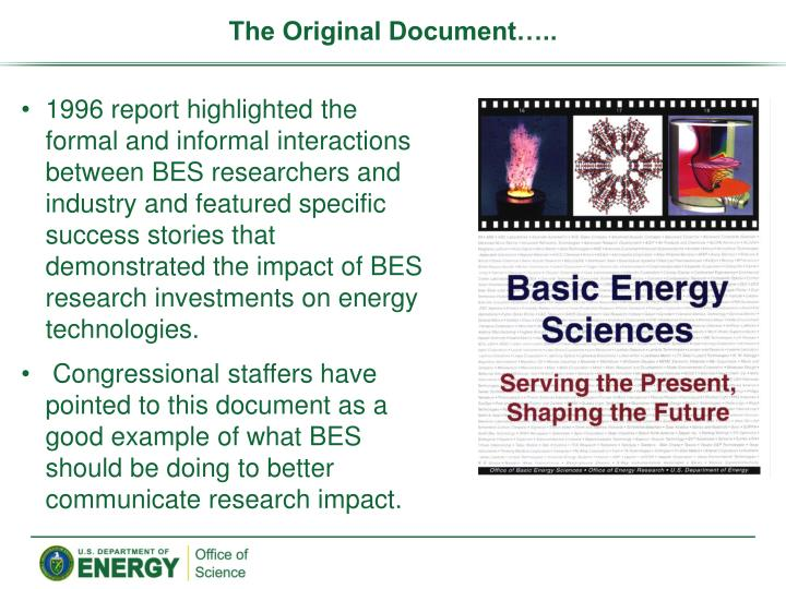 The Original Document…..