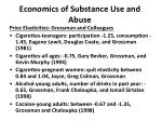 economics of substance use and abuse2