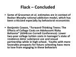 flack concluded1