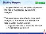 blocking mergers