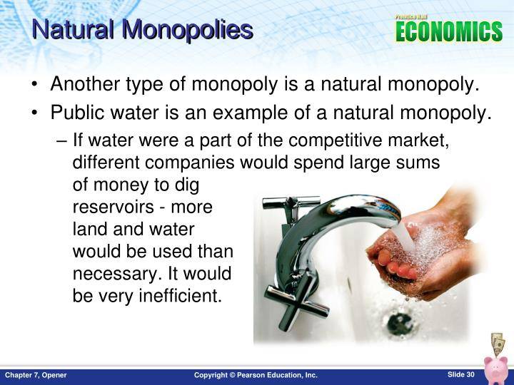 Natural Monopolies