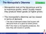 the monopolist s dilemma