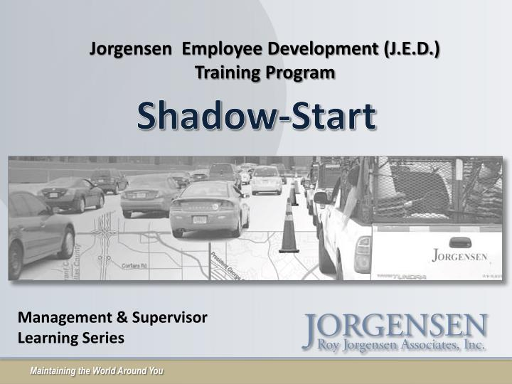 Jorgensen  Employee Development (J.E.D.)