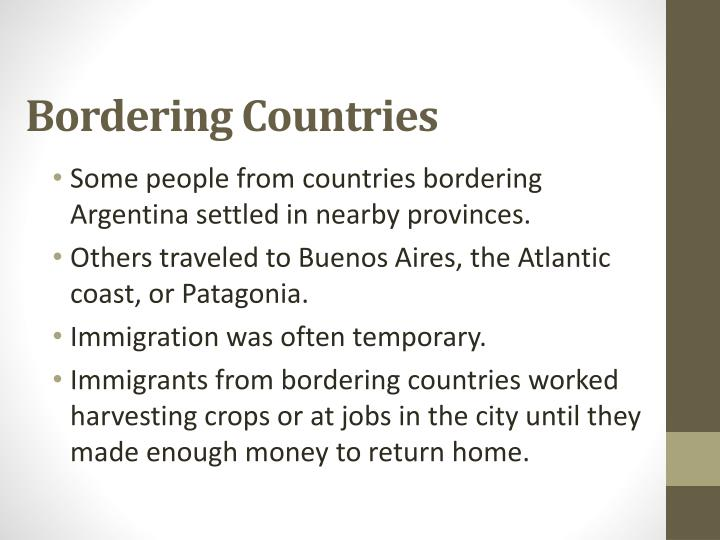Bordering Countries