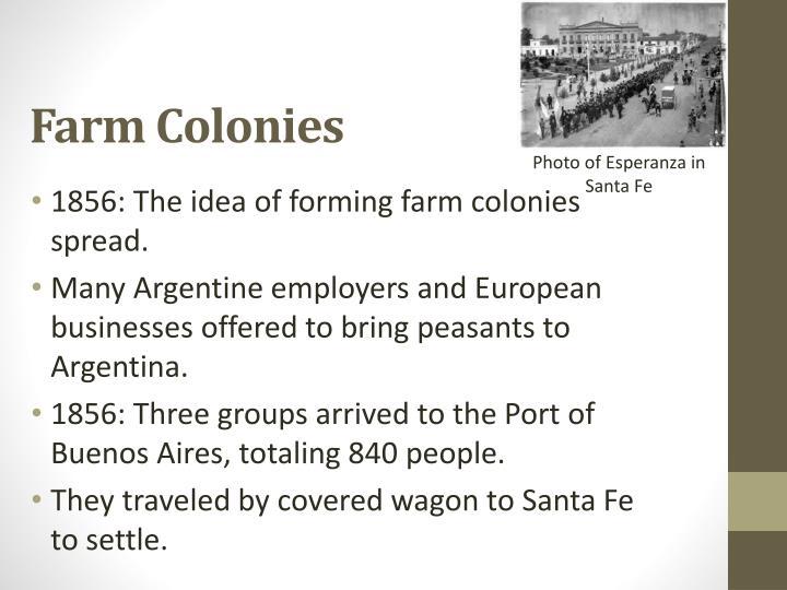 Farm Colonies