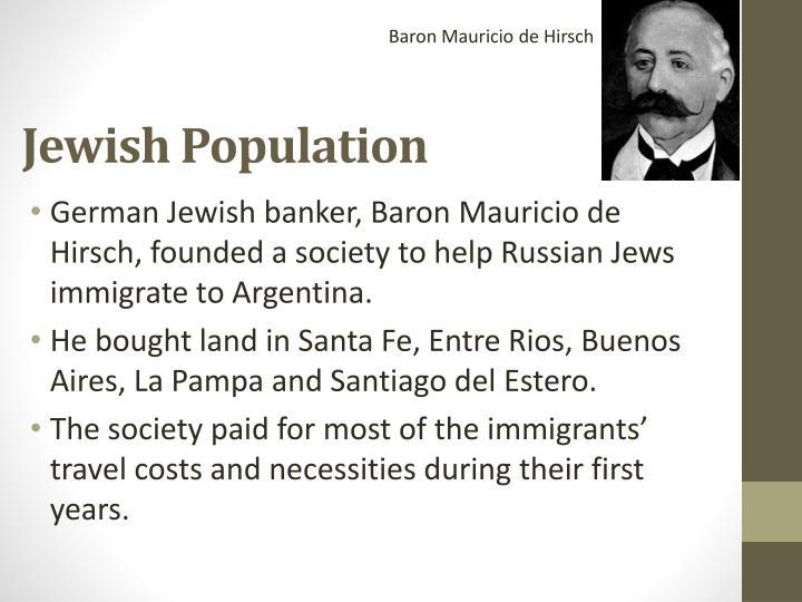 Baron Mauricio de Hirsch