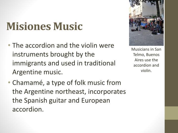 Misiones Music