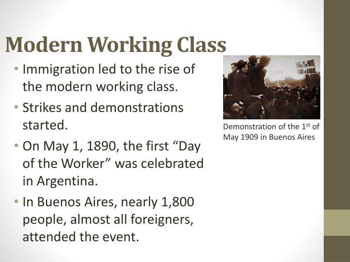 Modern Working Class