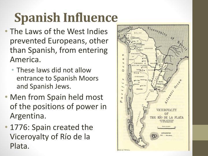 Spanish Influence
