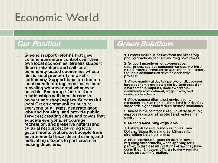 Economic World