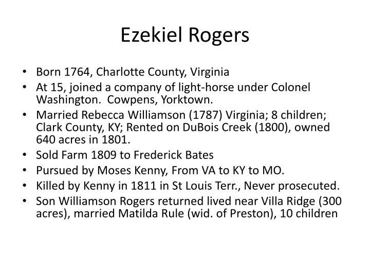 Ezekiel Rogers