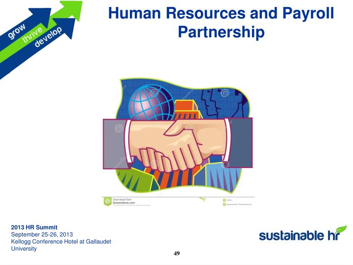 Human Resources and Payroll Partnership