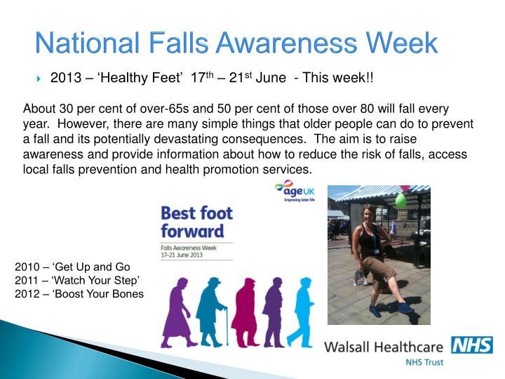 National Falls Awareness Week
