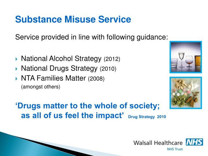 Substance Misuse Service