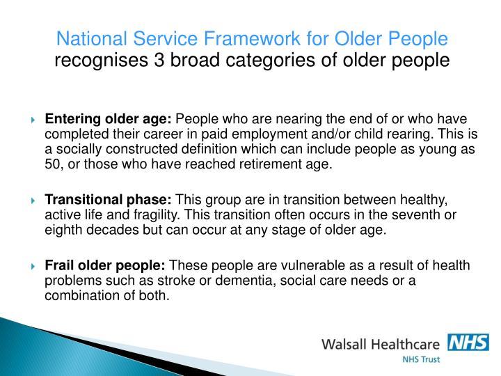 National Service Framework for Older People