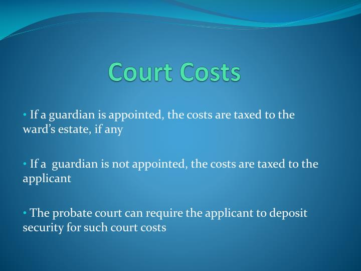 Court Costs