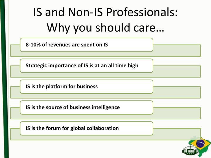 Is and non is professionals why you should care