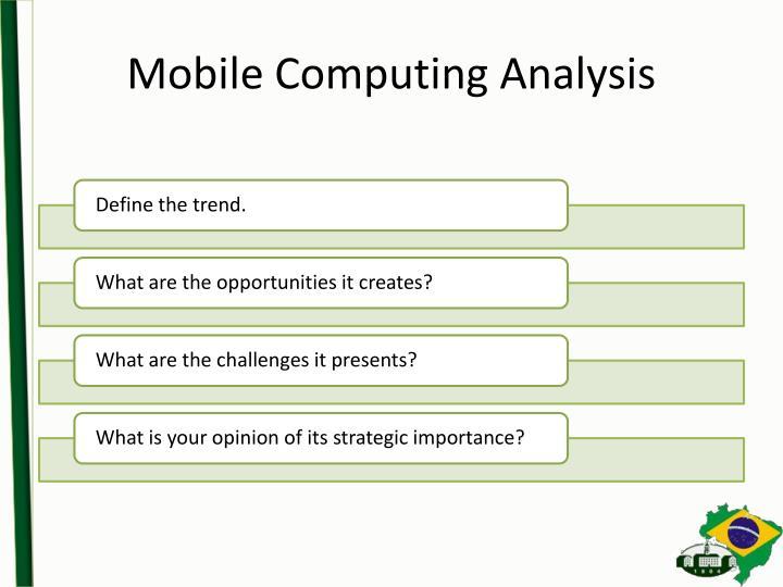 Mobile Computing Analysis