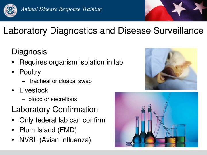 Laboratory Diagnostics and Disease Surveillance